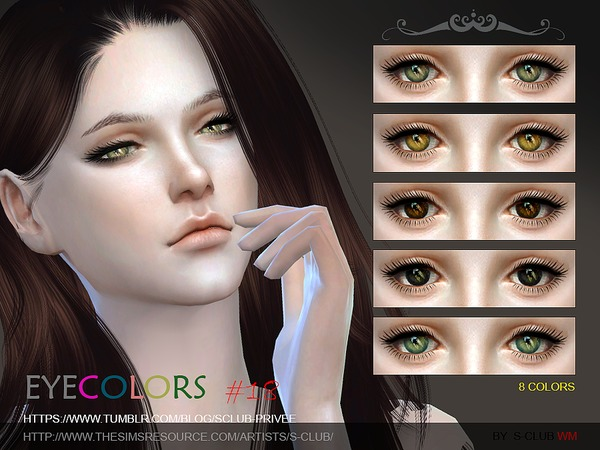 S-Club WM thesims4 Eyecolor 18