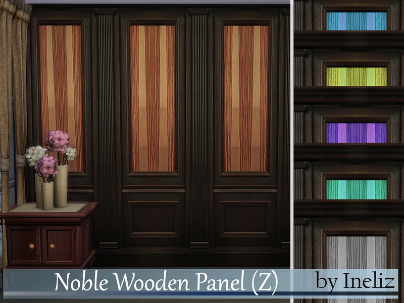 Noble Wooden Panel (Z) BY Ineliz