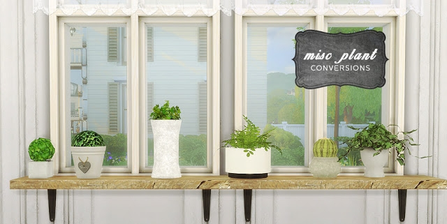 Misc Plants Conversions by Mio