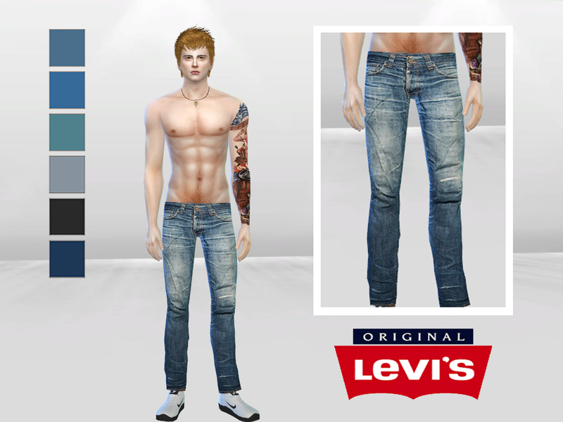 Grim Tim Denim Jeans BY McLayneSims