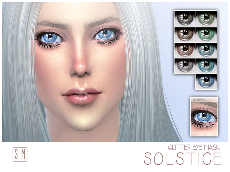 [ Solstice ] - Glitter Eye Mask BY Screaming Mustard