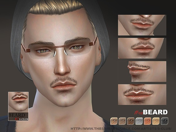 S-Club WM thesims4 Beard 02