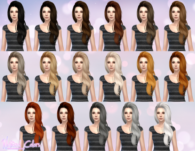 Butterflysims Hair 170 - Retexture by Aveira