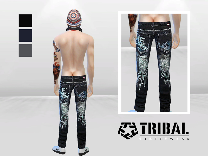 Street Dance Graffiti Jeans  BY McLayneSims