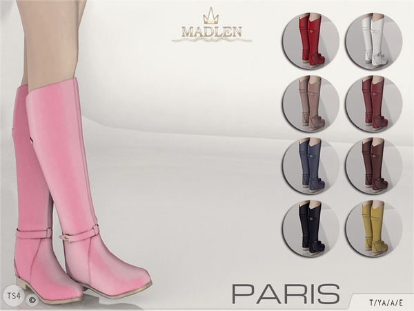 Madlen Paris Boots by MJ95