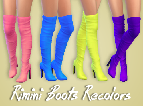 Boots Recolors by BlindingEchoes