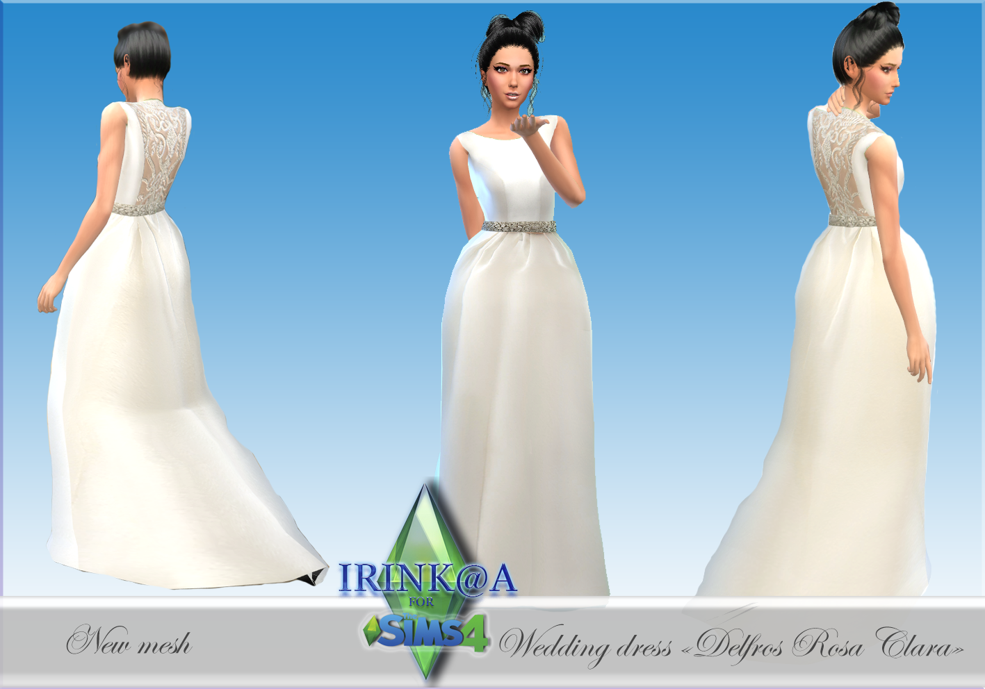 Wedding Dress by Irink@a
