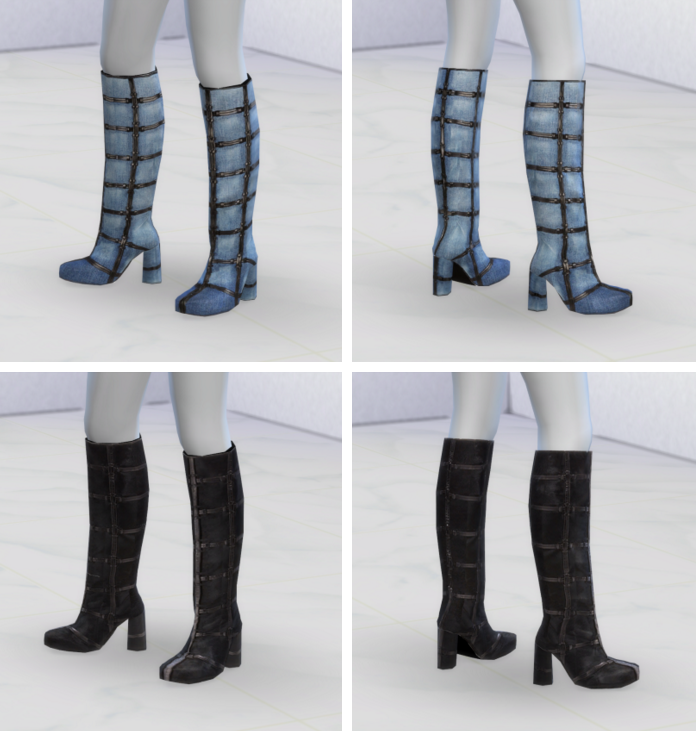 Tom Ford Knee Boots by Greenapple18r