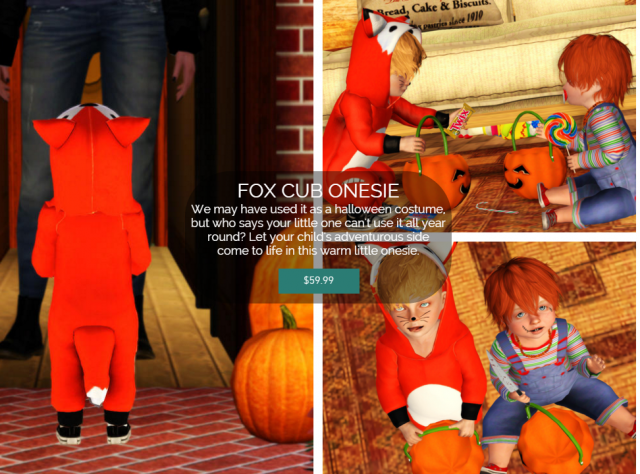 THE FOX ONESIE IS FINALLY HERE by GreyHound