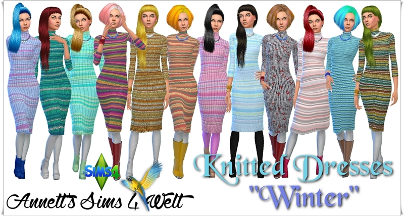 Knitted Dress by Annett85