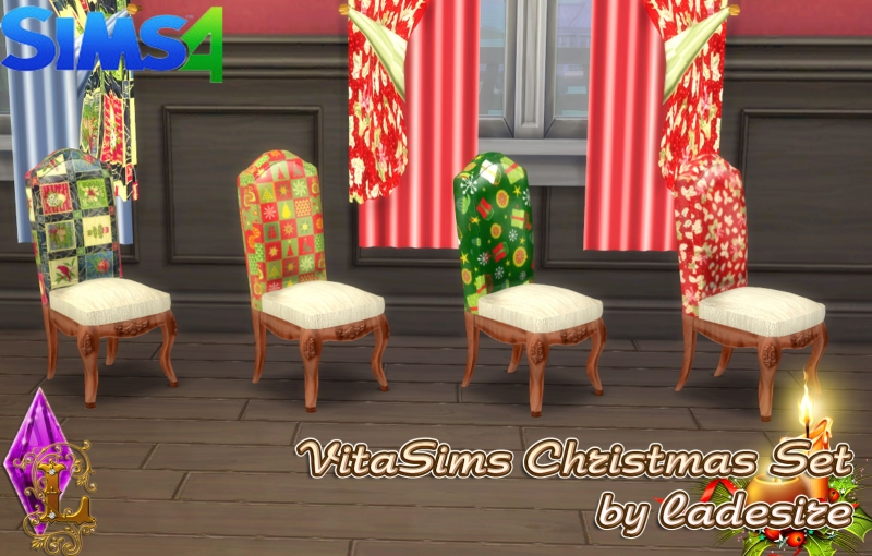 VitaSims Christmas Set by Ladesire