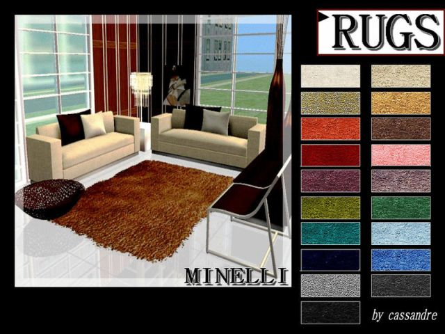 Minelli rugs by Leo-sims