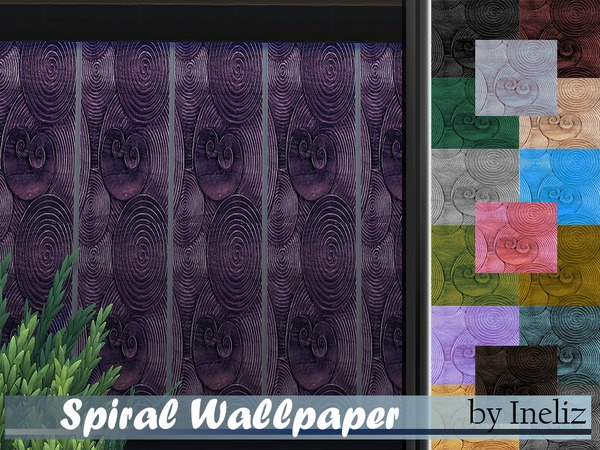 Spiral Wallpaper by Ineliz