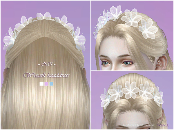 S-Club LL ts4 Wreath headdress 01
