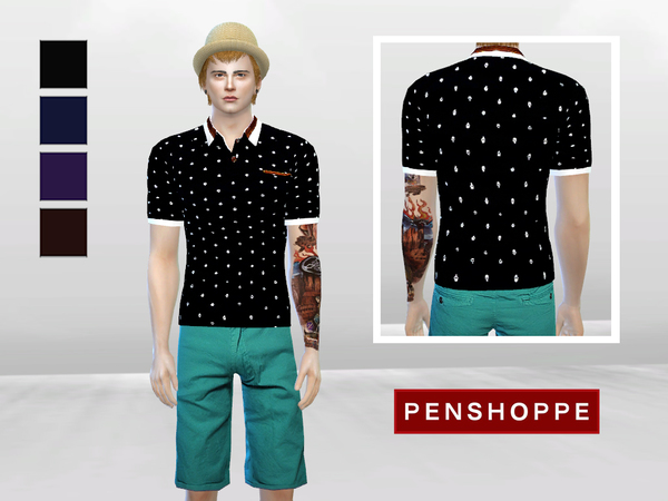 Cool For The Summer Polo by McLayneSims