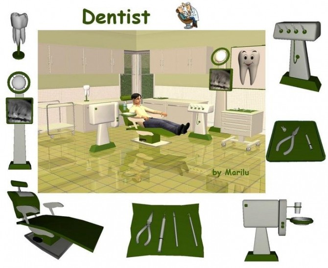 DENTIST SET CONVERSION By  LEO SIMS