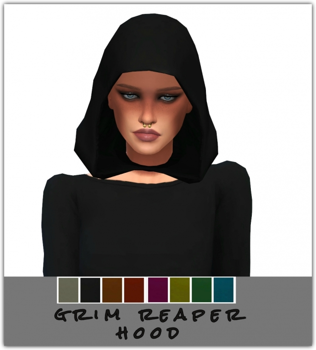 Grim Reaper Hood for Males & Females by Maimouth