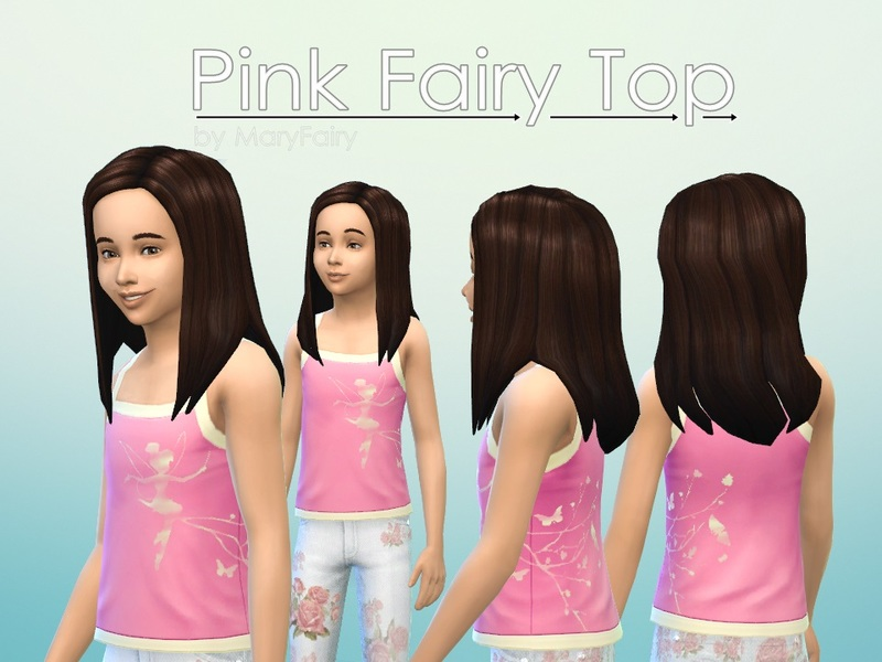 Pink Fairy Top for BY MaryFairy