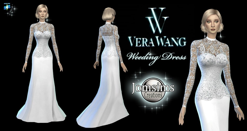 Vera wang weeding dress by JomSims