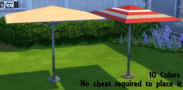 Rectangular Patio Umbrella by OM