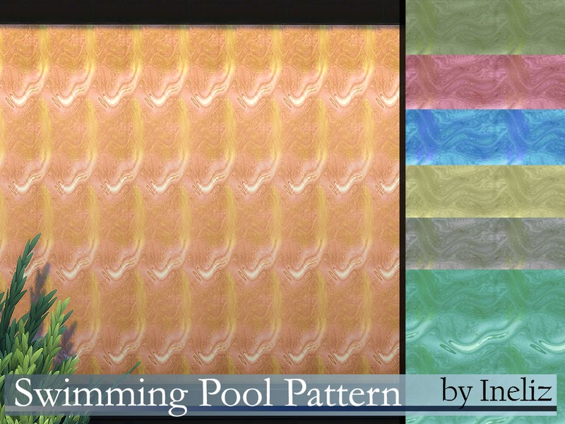 Swimming Pool Pattern BY Ineliz