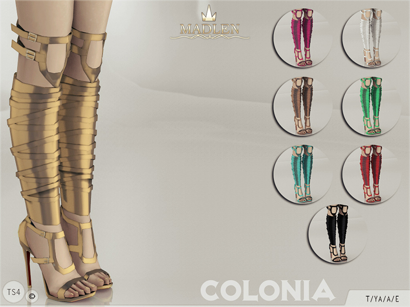 Madlen Colonia Shoes BY MJ95