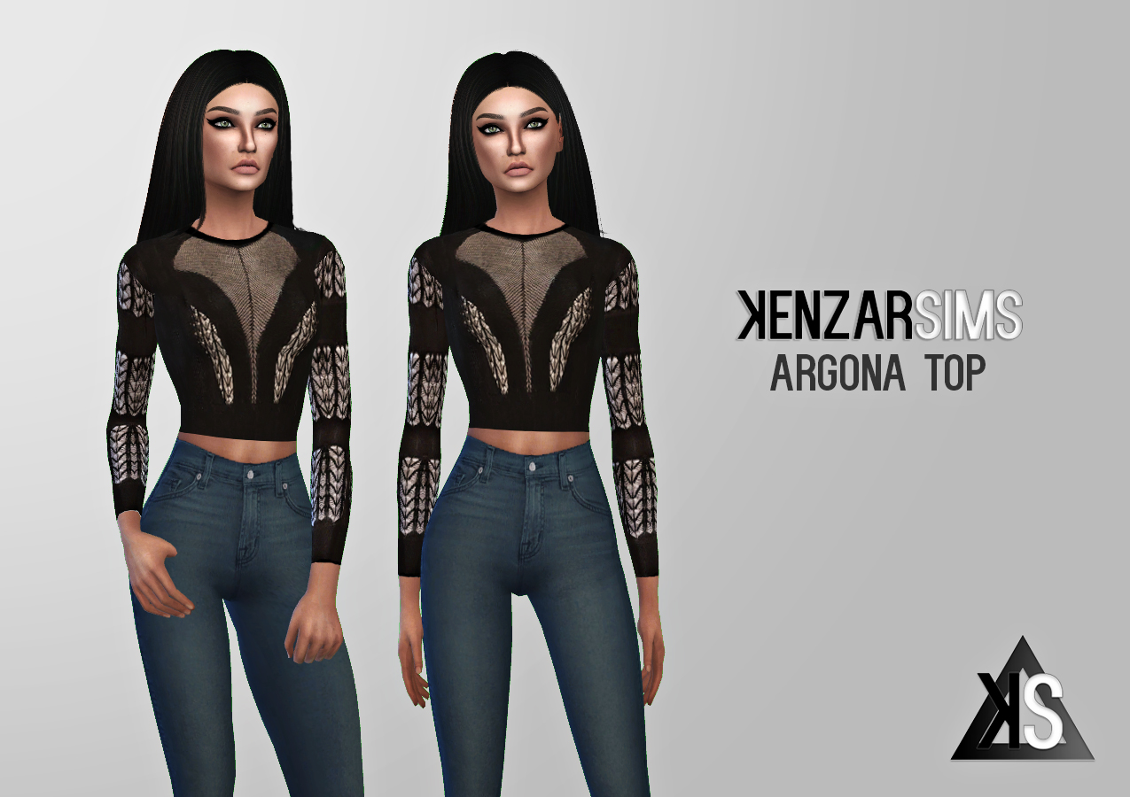 Argona Dress and Sweater by KenzarSims