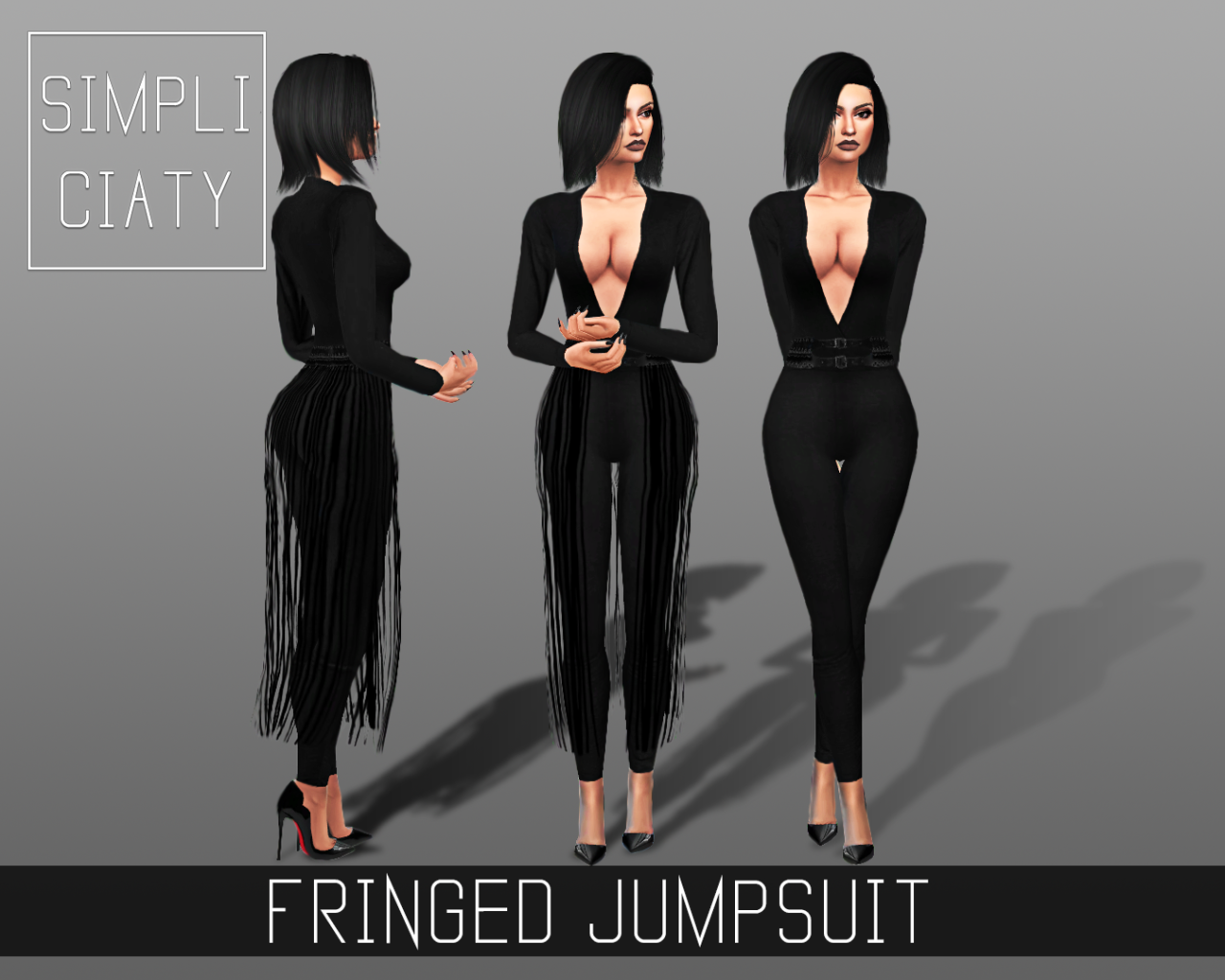 Fringed Jumpsuit by Simpliciaty