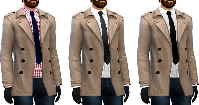 Wool Trench Coats by MarvinSims