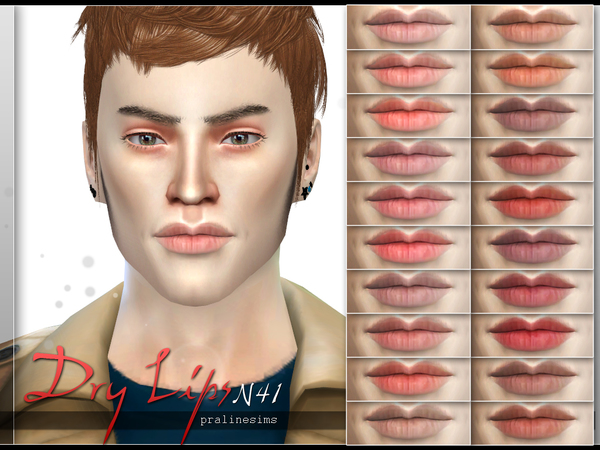 Dry Lips  N41 by Pralinesims