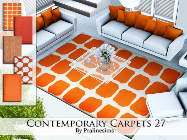 Contemporary Carpets 27 by Pralinesims
