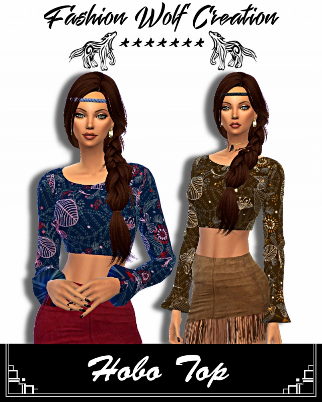 HOBO TOP by FashionWolfCreation