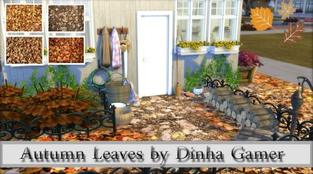 Autumn Leaves Terrain Paints by DinhaGamer