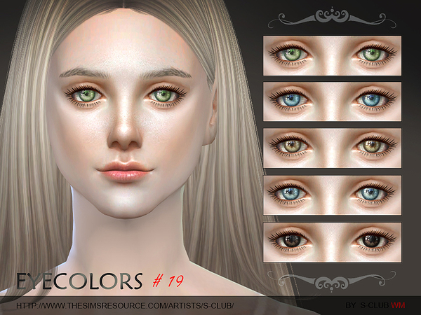 S-Club WM thesims4 Eyecolor 19