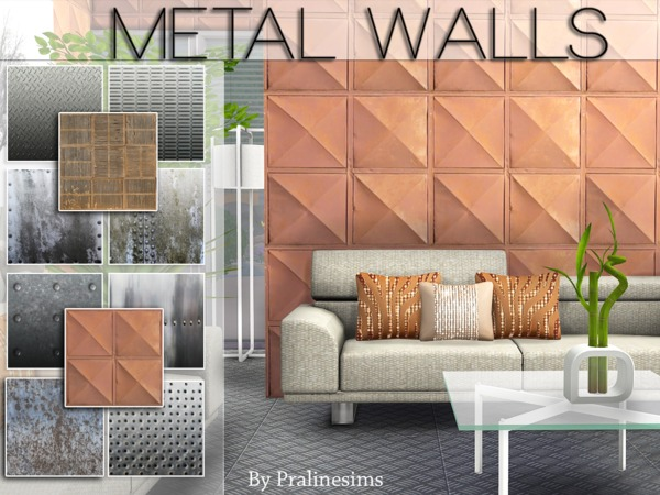 Metal Walls by Pralinesims