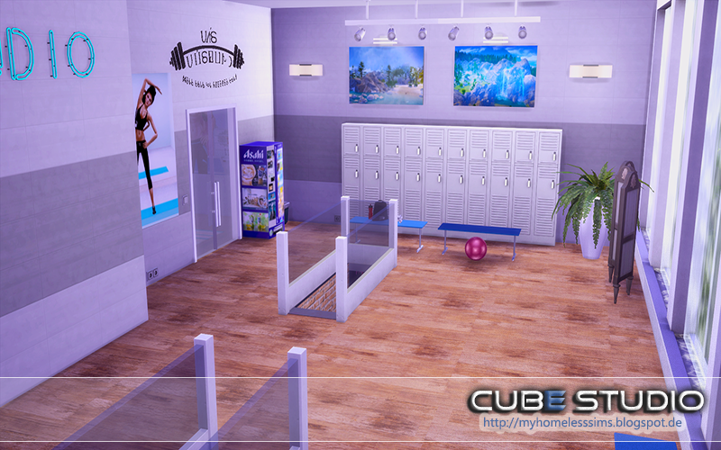 Cube Studio by MyHomelessSims