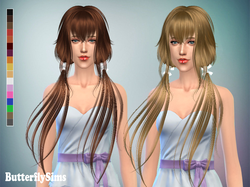 Sims4 Hairstyle 053 by ButterflySims