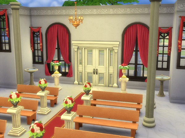 Catholic church for wedding by FarfallaNera04