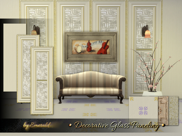 Decorative Glass Paneling by emerald