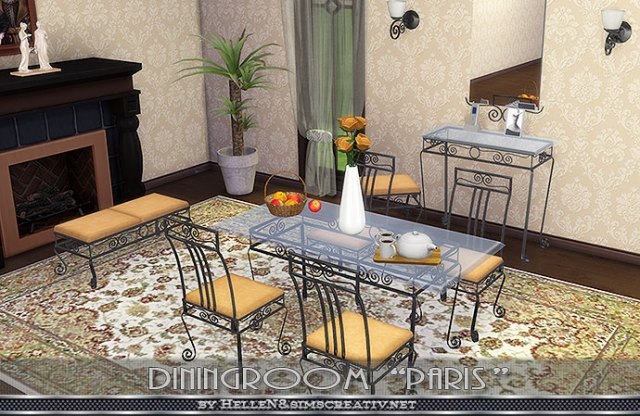 Dining room Paris by Hellen