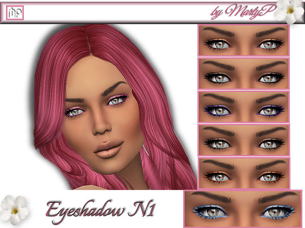 Eyeshadow N1 by MartyP