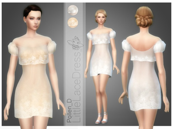 Little Lace Dress 05 by Pollen_D