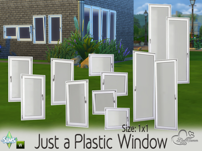 Just a Plastic Window (1x1) BY BuffSumm