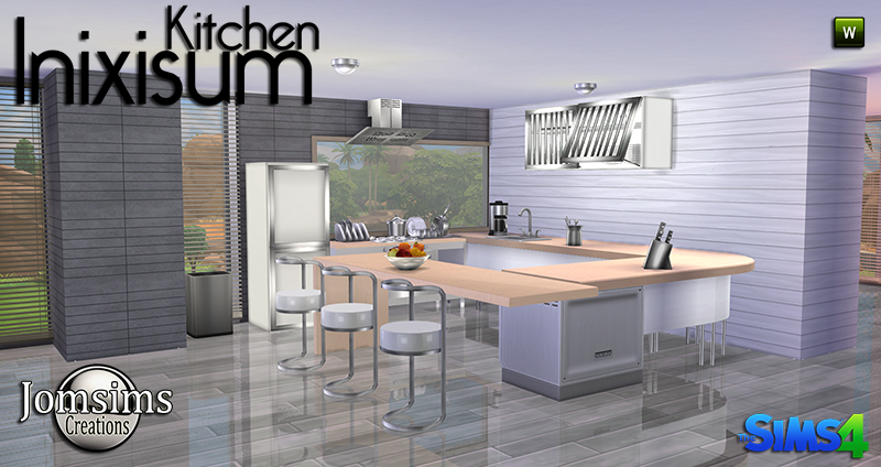 Inixisum Kitchen Set by JomSims