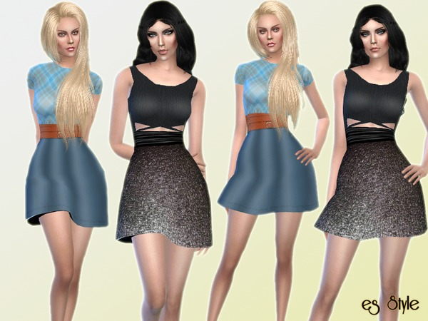 Daily Dress Set by ESsiN
