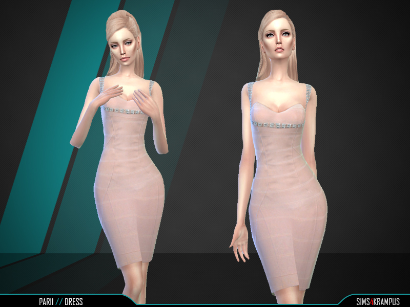 Parii Dress BY SIms4Krampus