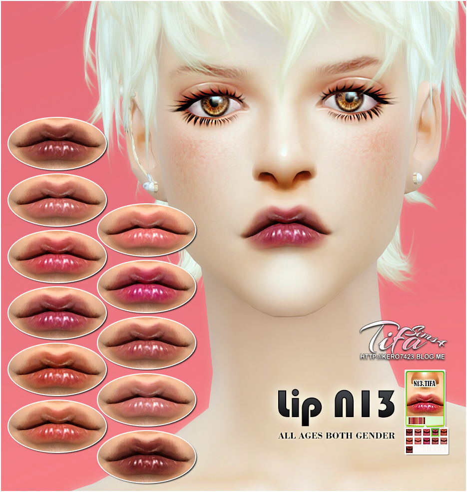 Lip N13_MF by Tifa
