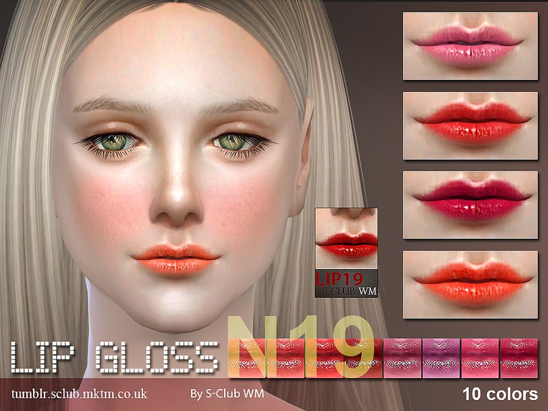 S-Club WM thesims4 Lipstick 19
