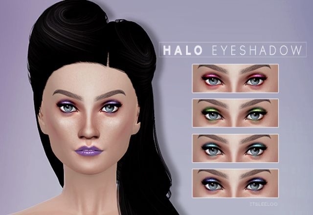 HALO EYESHADOW by ItsLeeloo