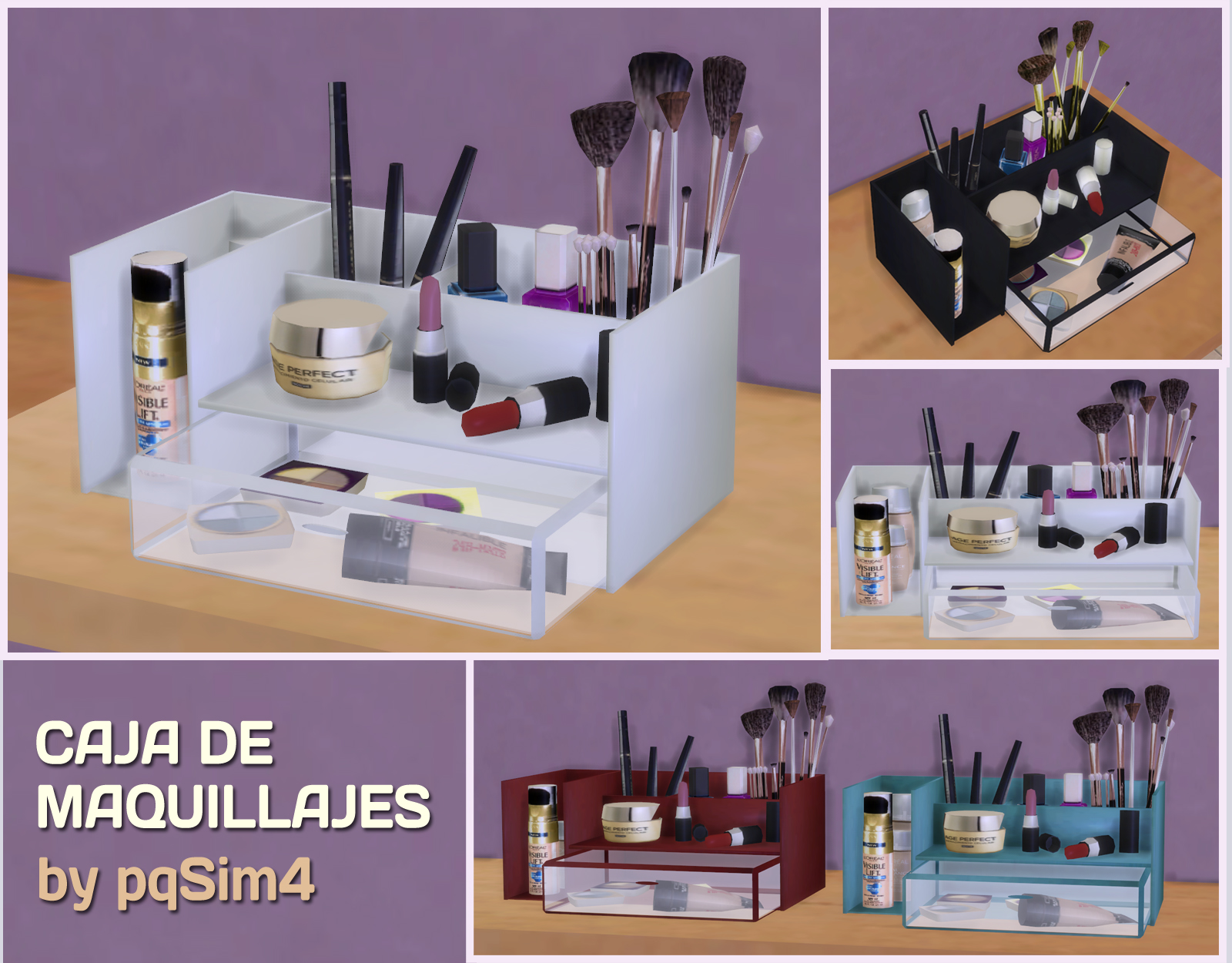 Makeup Box by pqsim4